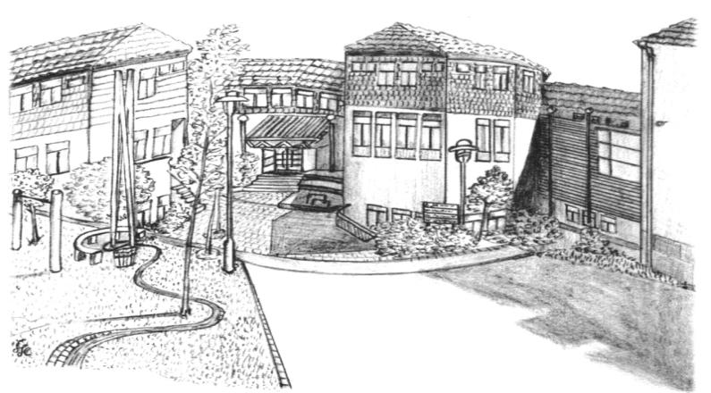 Schule Zeichnung